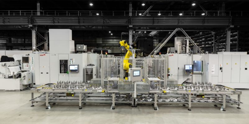HECKERT T45 Cell Puts Gear Production Savings   On Another Planet!