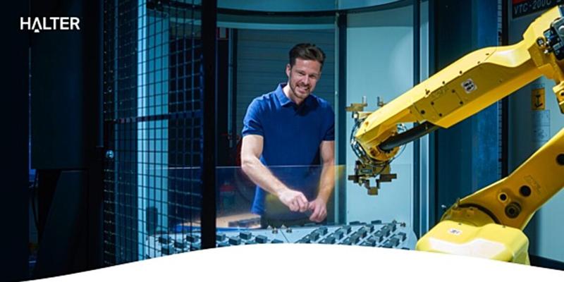 ONLINE WORKSHOP: The advantages of the HALTER plug&play loading robot!