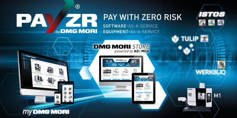 DMG MORI INTRODUCES NEW METHOD FOR MACHINE AND SOFTWARE ACQUISITION