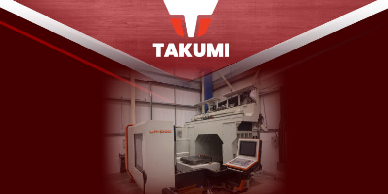 The Takumi UR1000 5-axis Has Arrived!