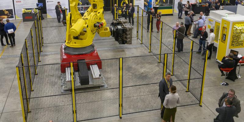 FANUC produces 750,000th robot