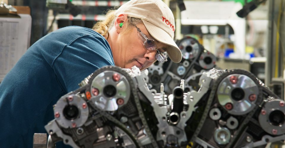 Toyota Manufacturing Worker